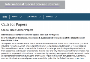 Fourth Industrial Revolution, Innovation & Sustainable Development of the Global South in Post-COVID-19 Era