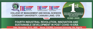 1st International Conference of Innovation and Sustainable Development (ICISD)