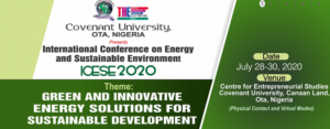 ICESE 2020 Conference