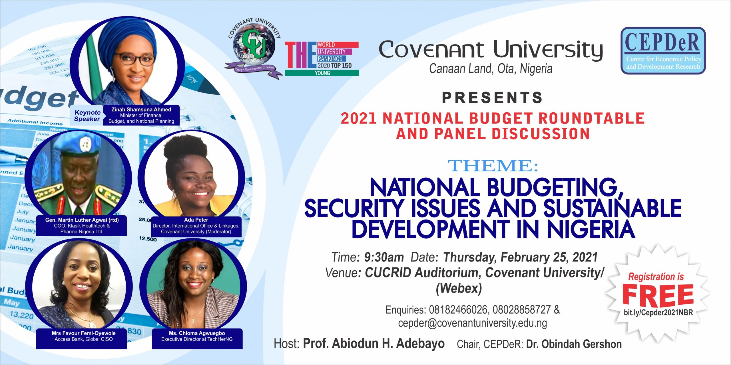 2021 National Budget Roundtable and Panel Discussion is Here…