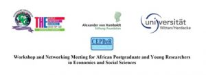 Workshop and Networking Meeting for African Postgraduate and Young Researchers in Economics and Social Sciences